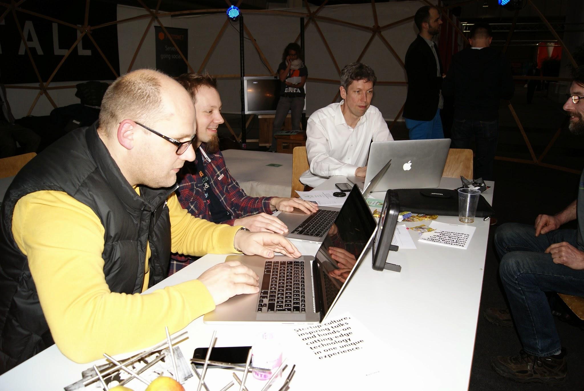 Team Lars und Helge - Coding Dojo Agile Wednesday Cebit 2014 - 5242
