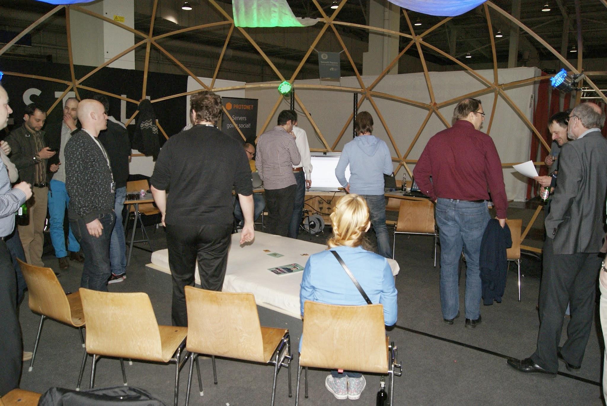 Publikum - Coding Dojo Agile Wednesday Cebit 2014 - 5254