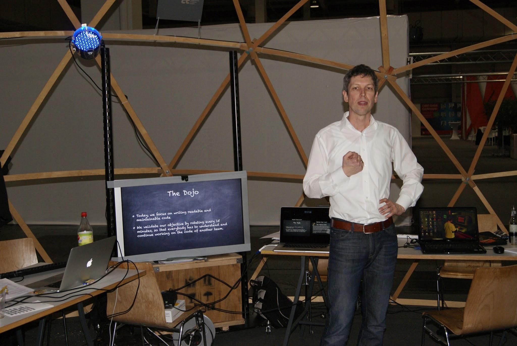 Lars Hüper - Coding Dojo Agile Wednesday Cebit 2014 - 5266